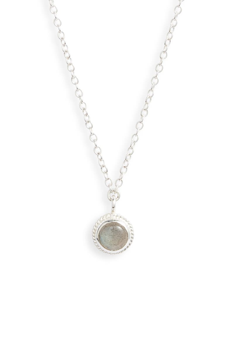 Anna Beck Labradorite Pendant Necklace