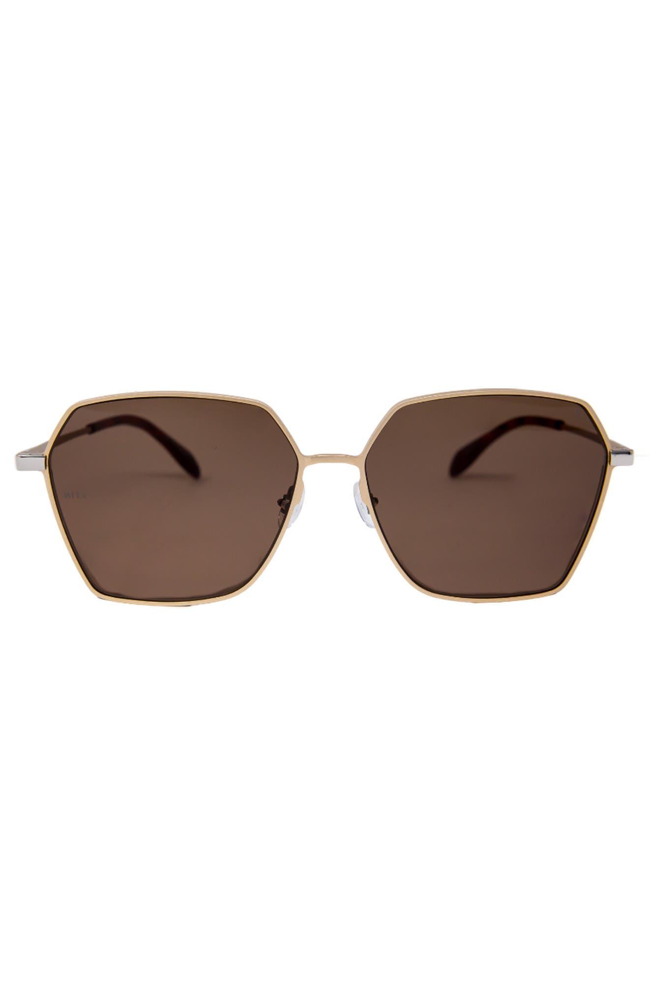 Tuscany 63mm Oversized Square Sunglasses