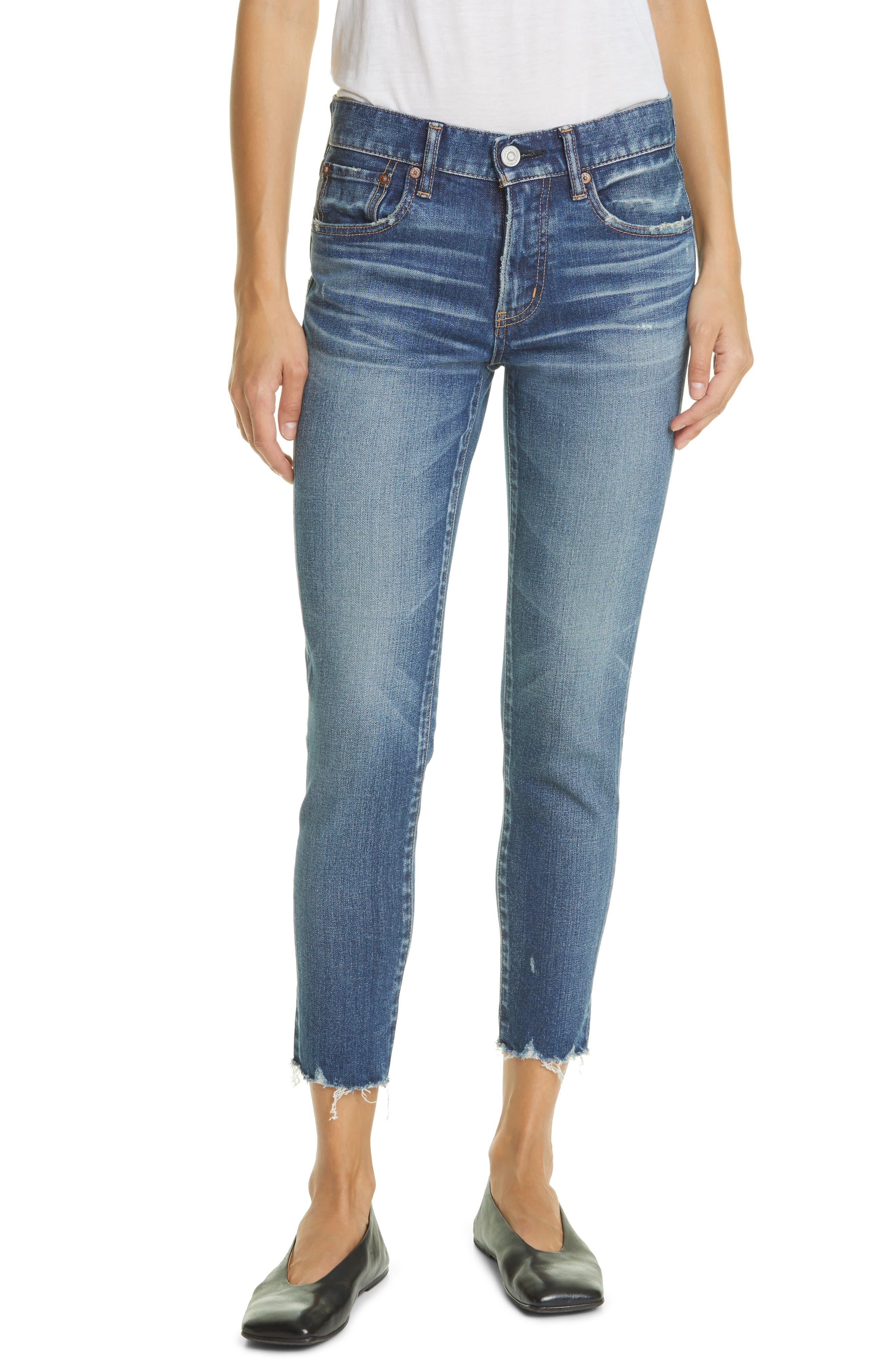 Tyrone Raw Hem Skinny Jeans