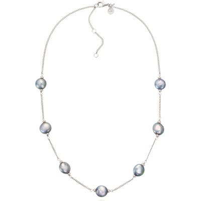Claudia Bradby Luxe Coin Pearl Necklace