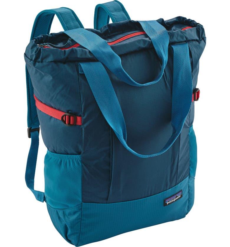 PATAGONIA Tote Backpack, Main, color, 407