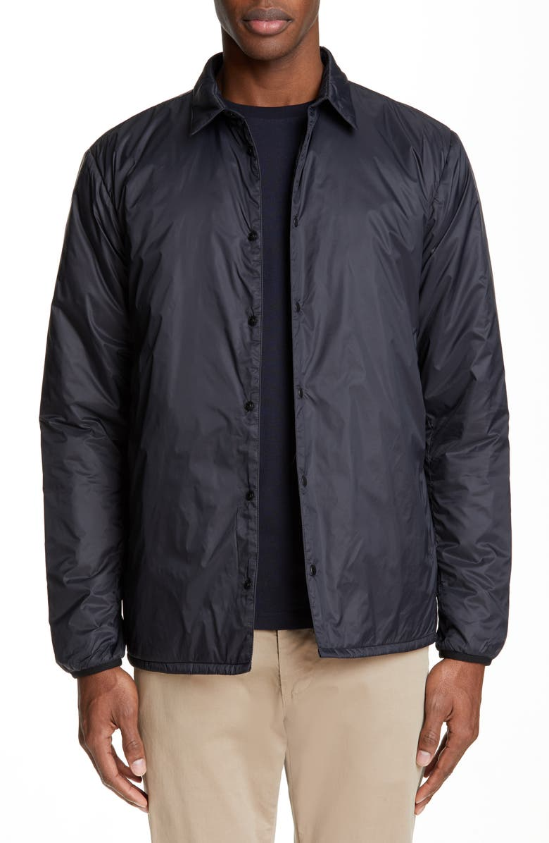 NORSE PROJECTS Jens 2.0 Lightweight Jacket, Main, color, BLACK