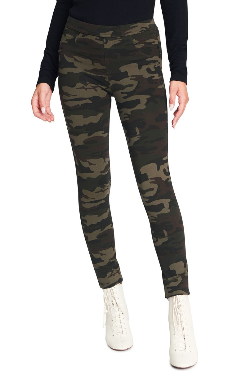 SANCTUARY Grease Leggings, Main, color, HERITAGE CAMO