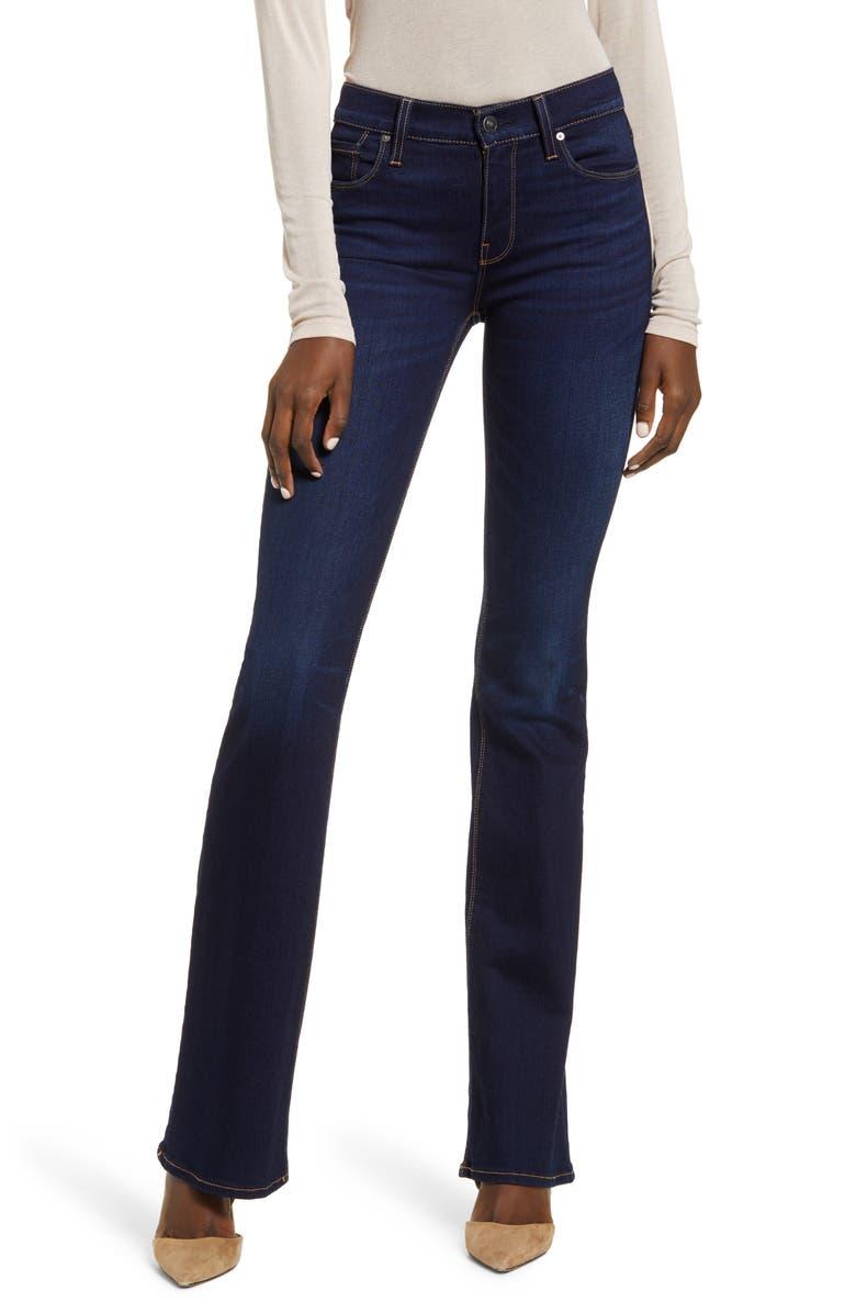 HUDSON JEANS Nico Bootcut Jeans, Main, color, REQUIEM