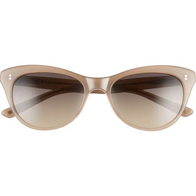 Salt. Hillier 55mm Polarized Cat Eye Sunglasses - Taupe