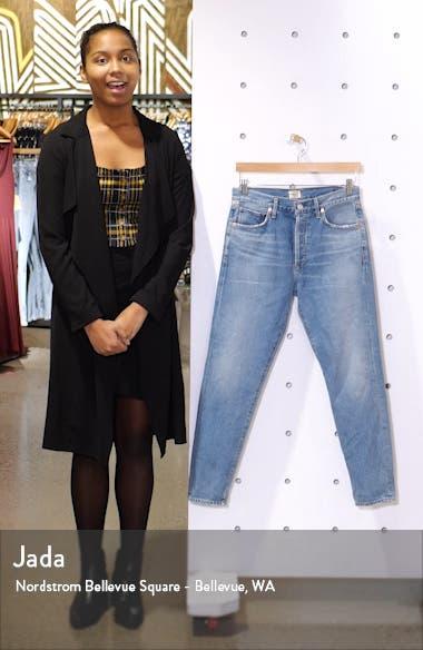 Citizen of Humanity Liya High Waist Slim Leg Jeans, sales video thumbnail