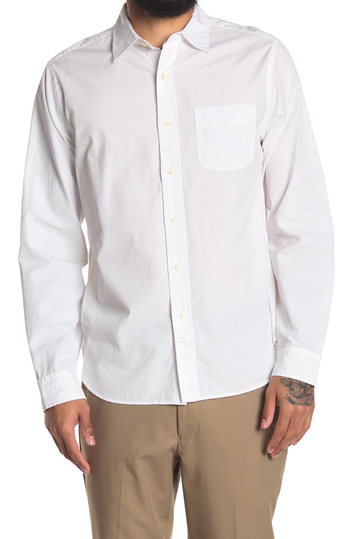 Image of ALEX MILL End on End Regular Fit Shirt