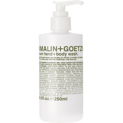 Malin + Goetz Rum Hand & Body Wash With Pump