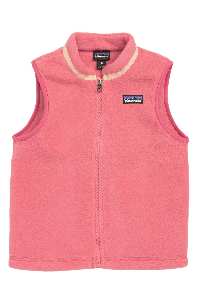 PATAGONIA Synchilla<sup>®</sup> Recycled Fleece Zip Vest, Main, color, 650