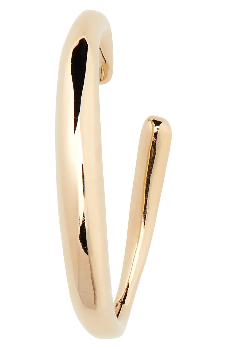 FARIS Hoop Ear Cuff, Main, color, BRONZE