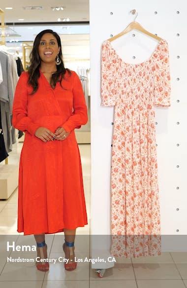 Smocked Maxi Dress, sales video thumbnail