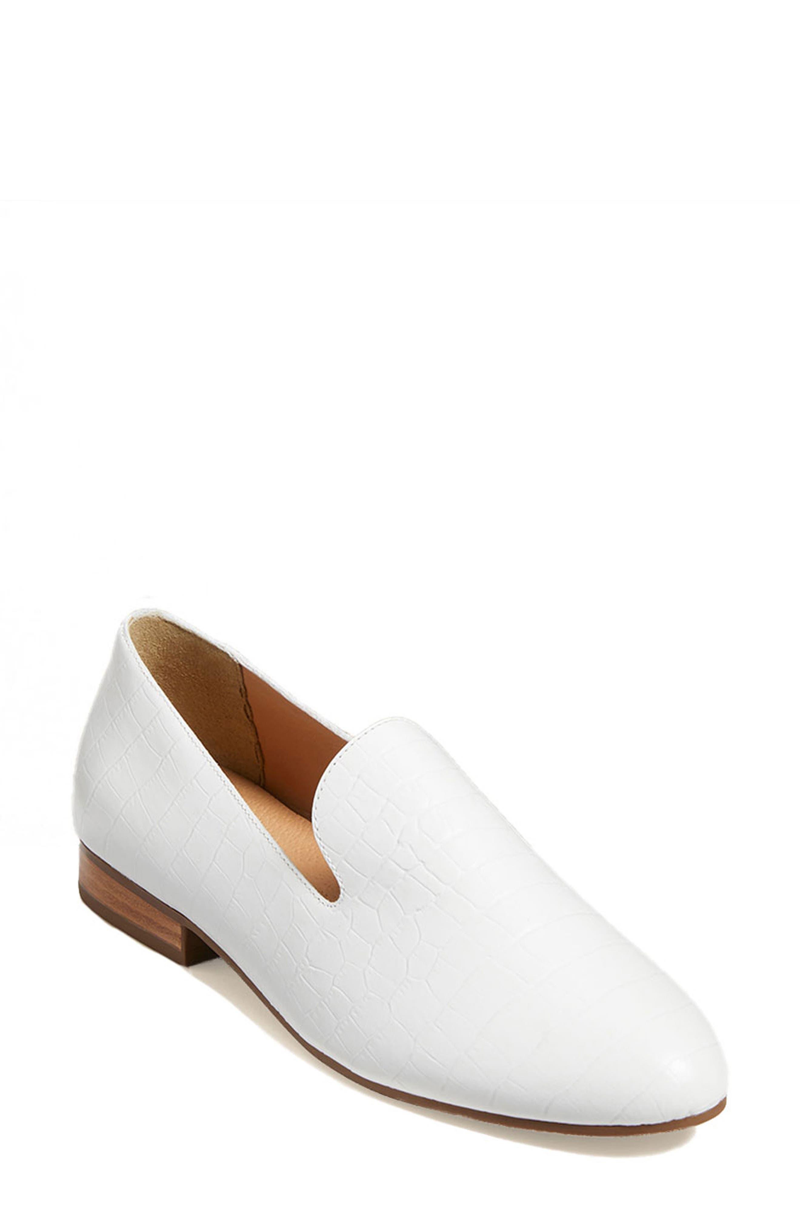 Audrey Croc Embossed Loafer