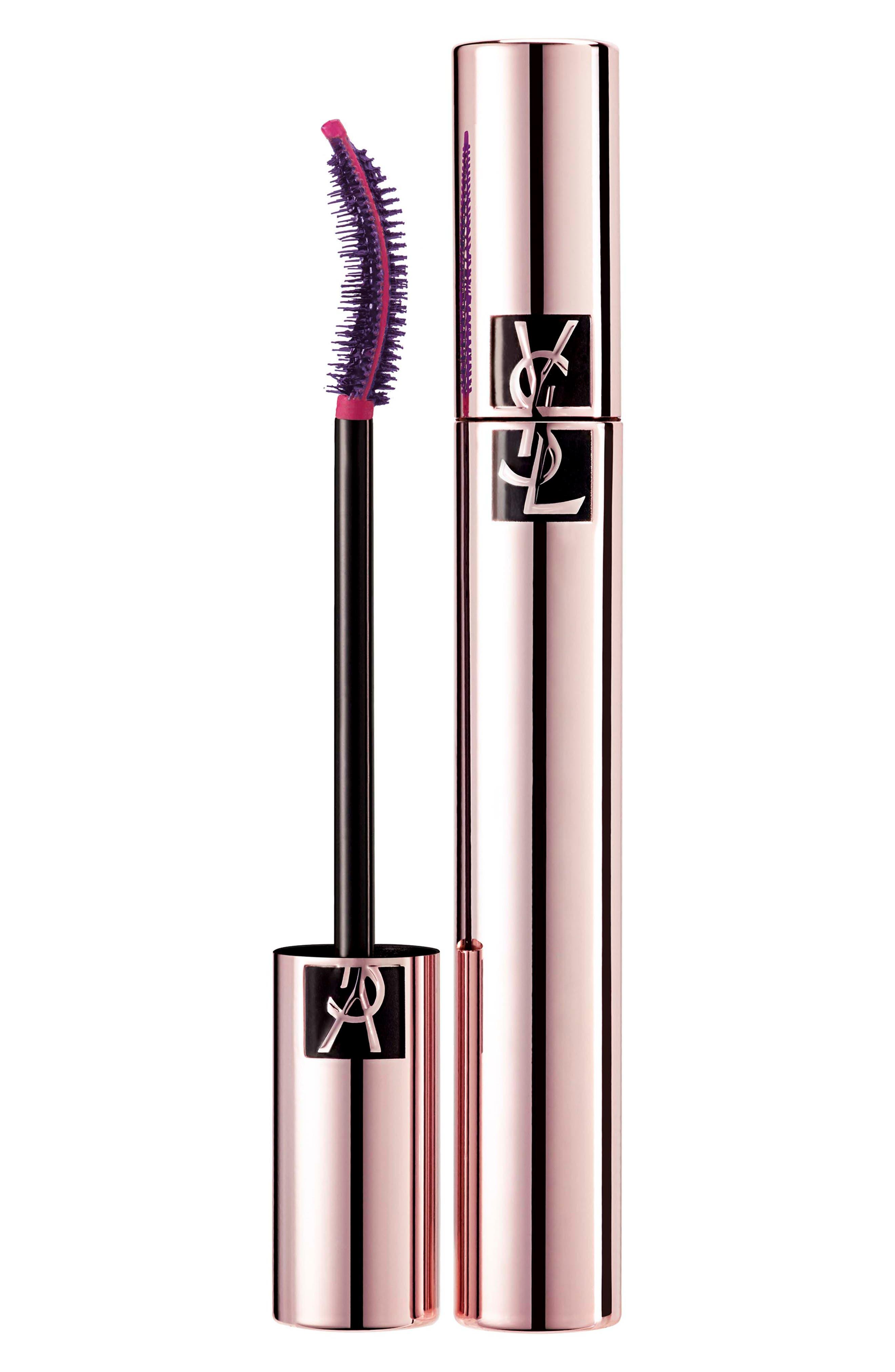 Yves Saint Laurent Le Curler Mascara Volume Effet Faux Cils - Violet Malicieux