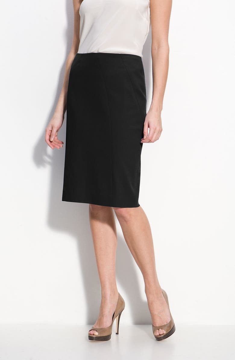 CLASSIQUES ENTIER<SUP>®</SUP> 'Willow' Seamed Pencil Skirt, Main, color, 001