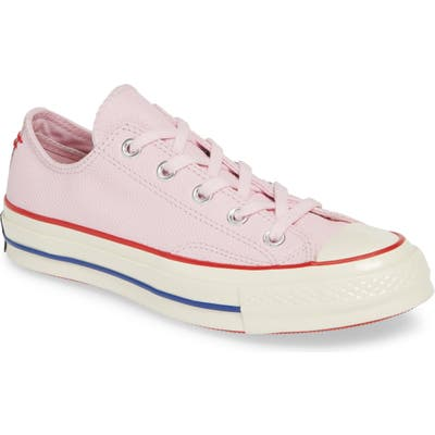 Converse Chuck Taylor All Star Chuck 70 Ox Leather Sneaker, Pink