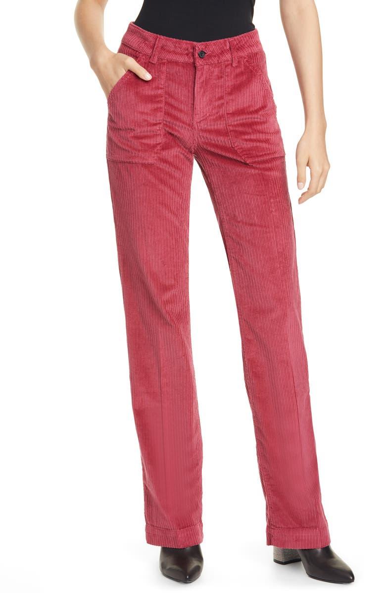BA&SH Stone Trousers, Main, color, 600