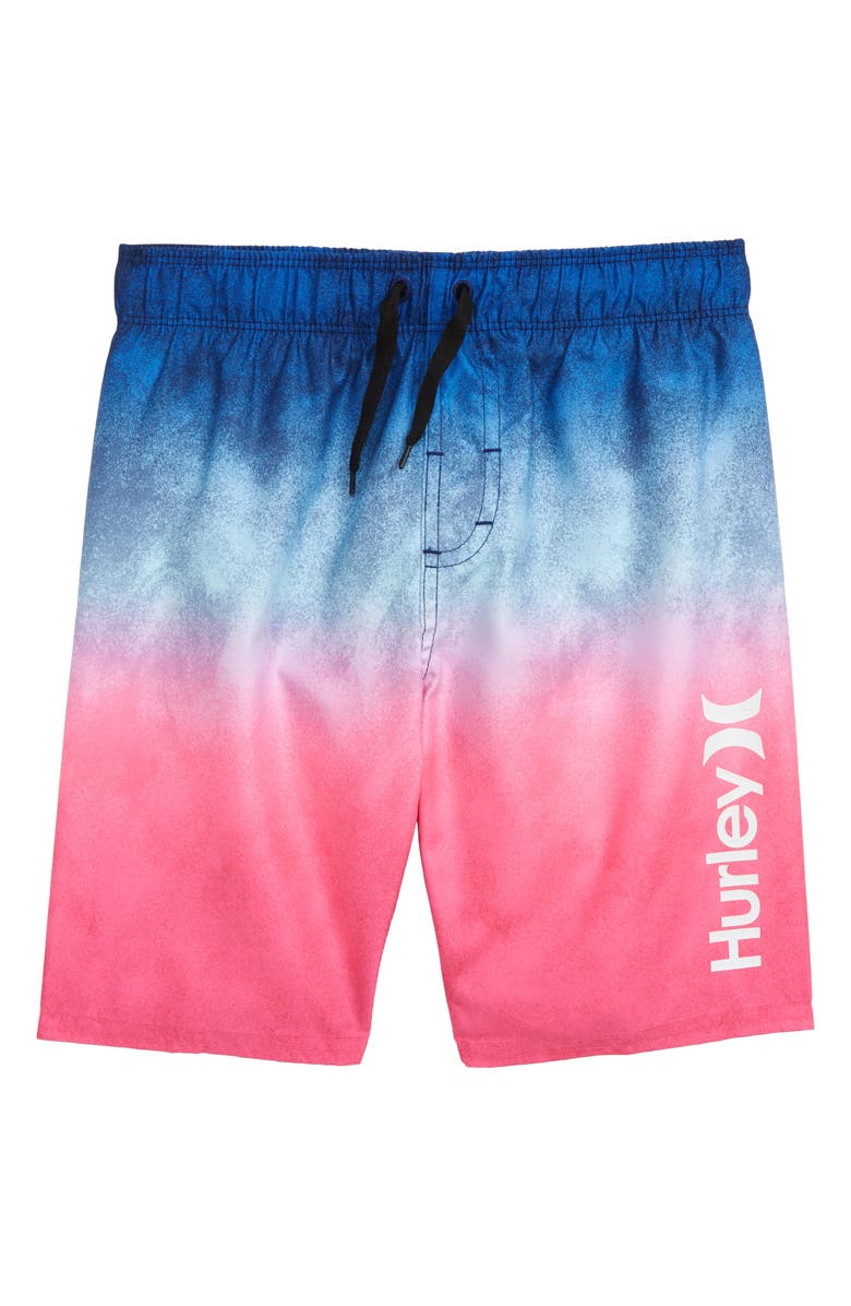 HURLEY Gradient Swim Trunks, Main, color, 433