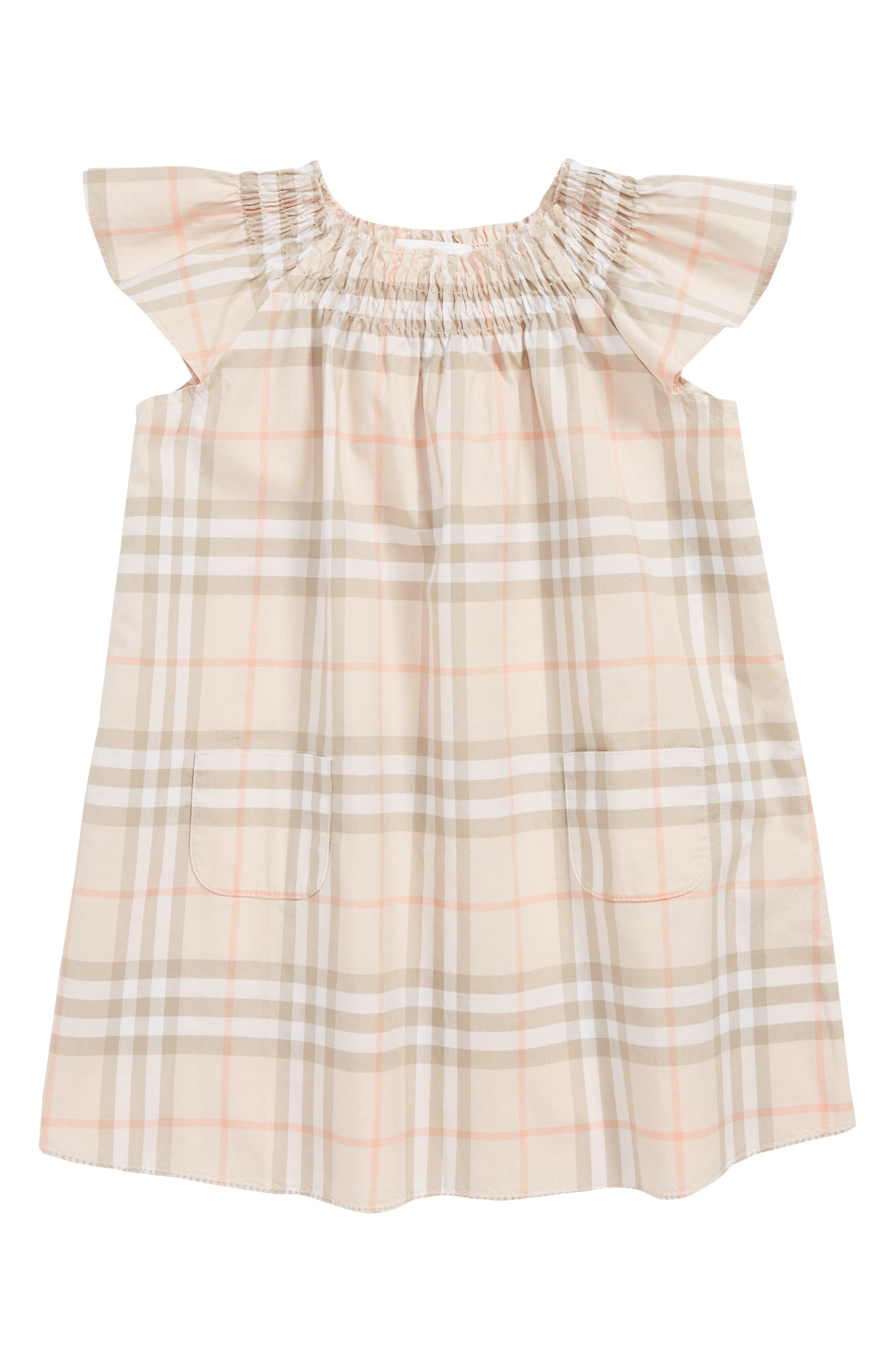 Vinya Shift Dress, Main, color, PALE PINK APRICOT IP