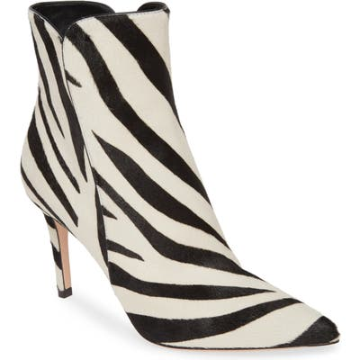 Gianvito Rossi Genuine Calf Hair Bootie, Black (Nordstrom Exclusive)