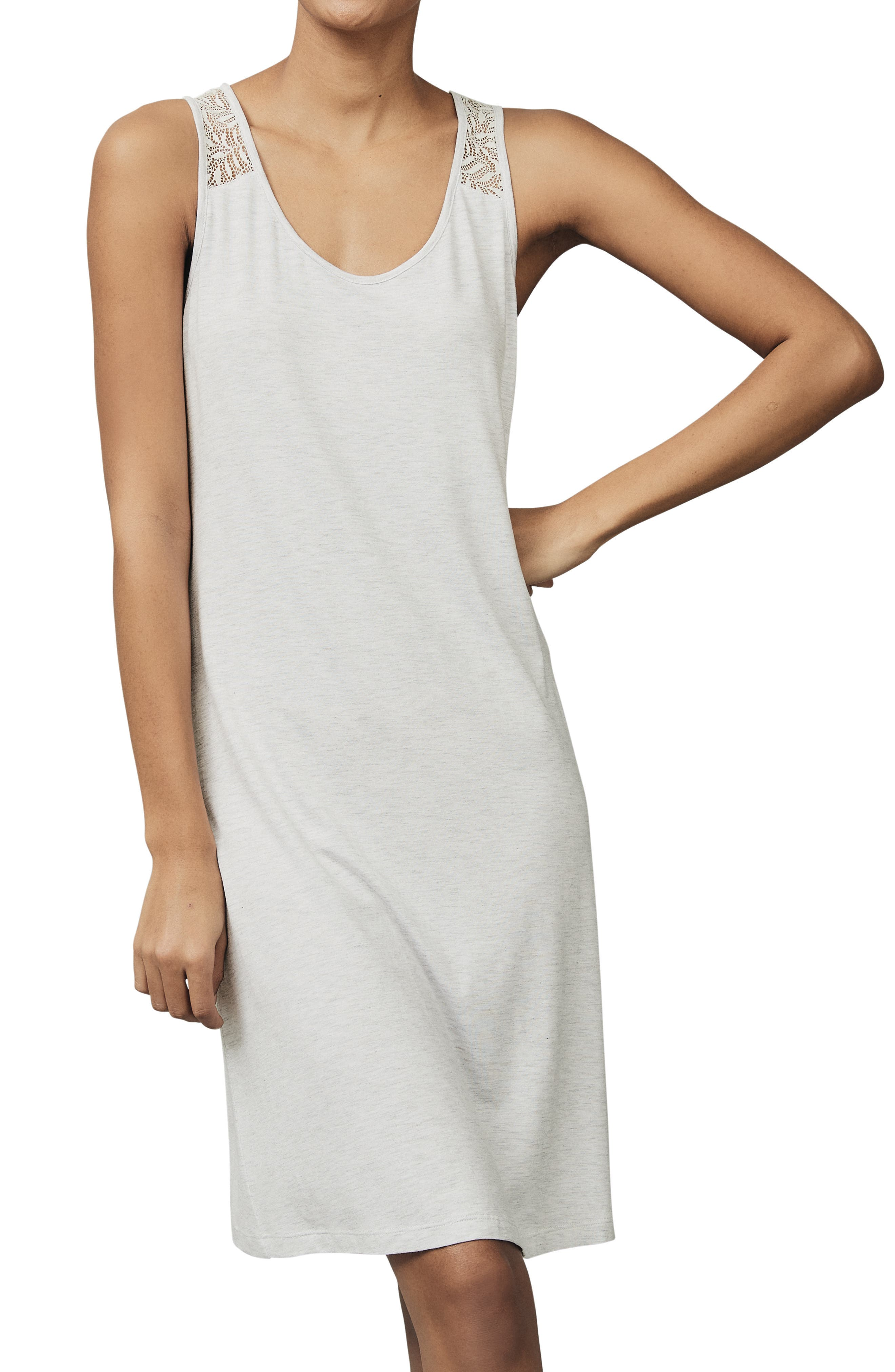 The White Company Leaf Lace Nightgown