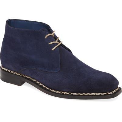 Mezlan Kassel Chukka Boot- Blue