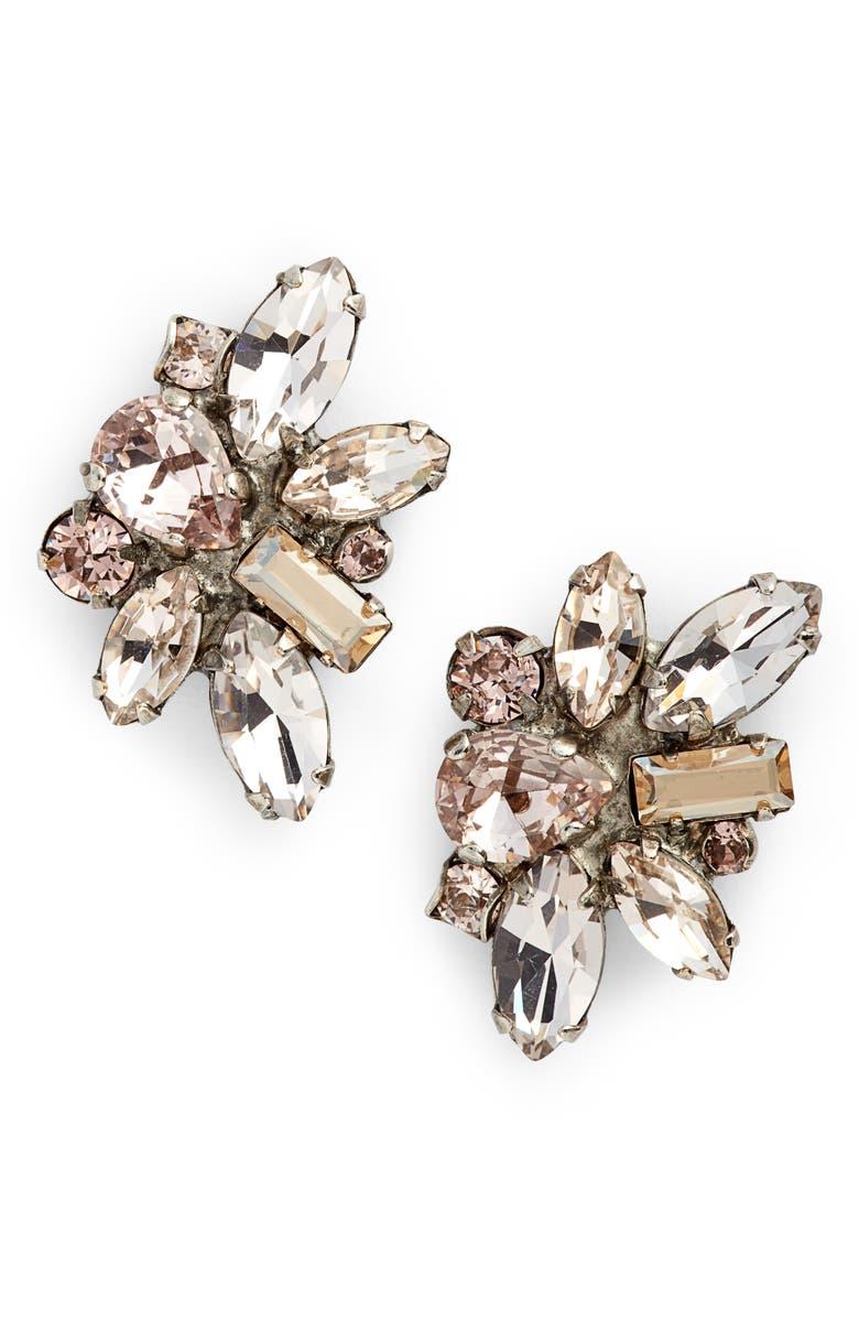 SORRELLI Muscari Crystal Earrings, Main, color, 650