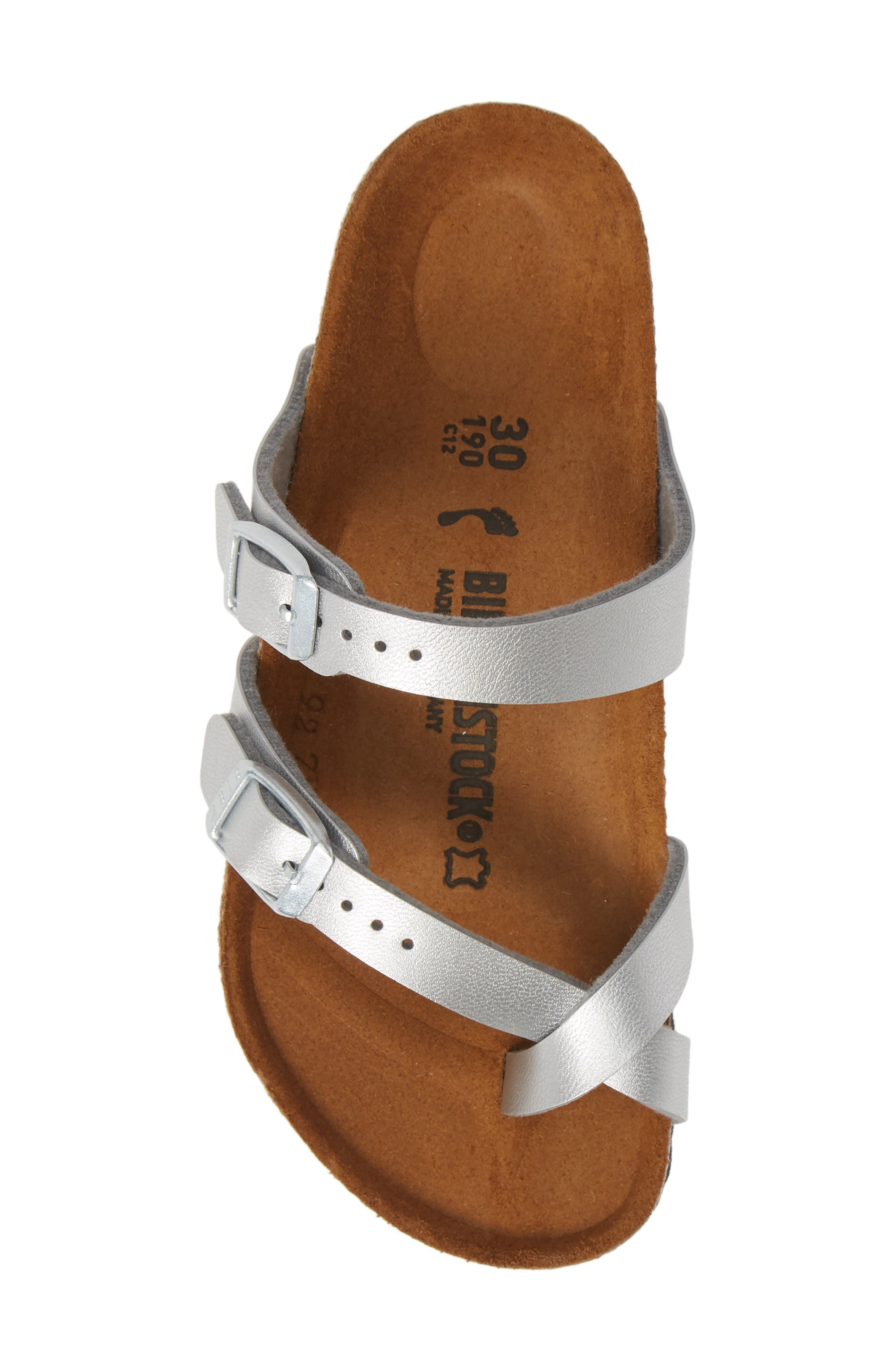,                             Mayari Birko-Flor<sup>™</sup> Sandal,                             Alternate thumbnail 5, color,                             SILVER