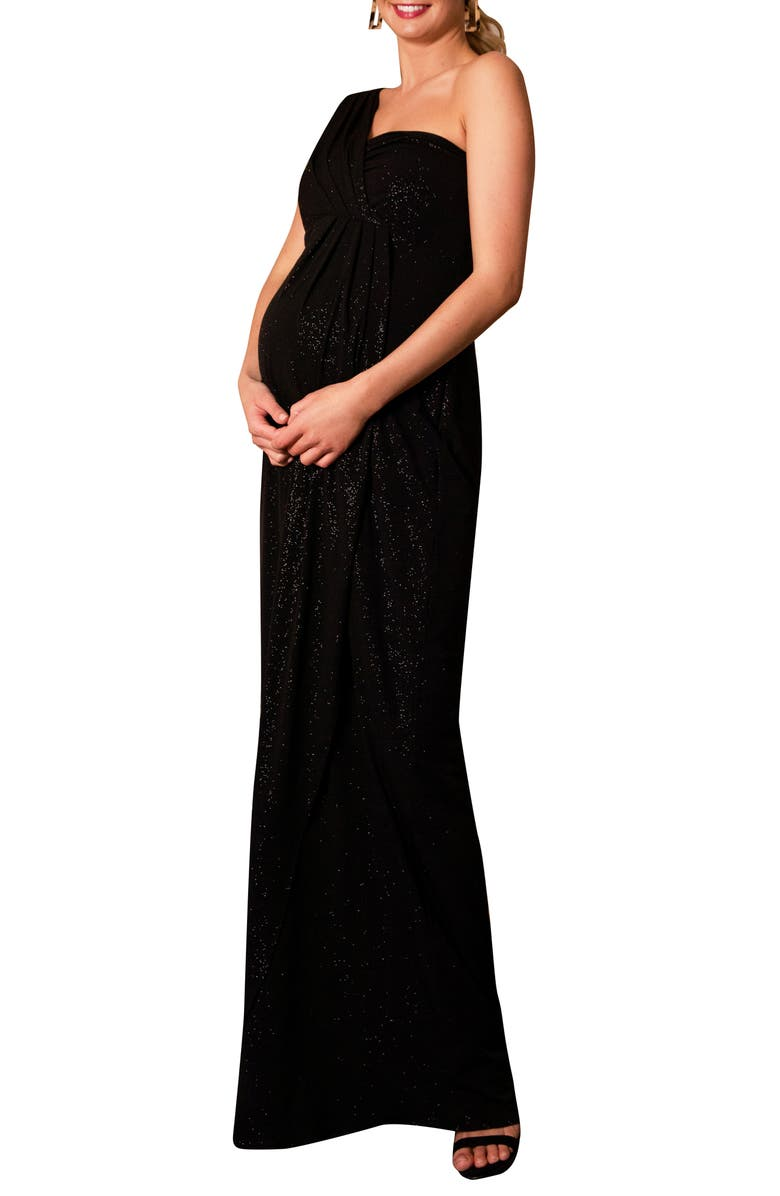 TIFFANY ROSE Galaxy Maternity Gown, Main, color, NIGHT SKY