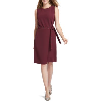 Nic+Zoe Under Wraps Dress, Burgundy