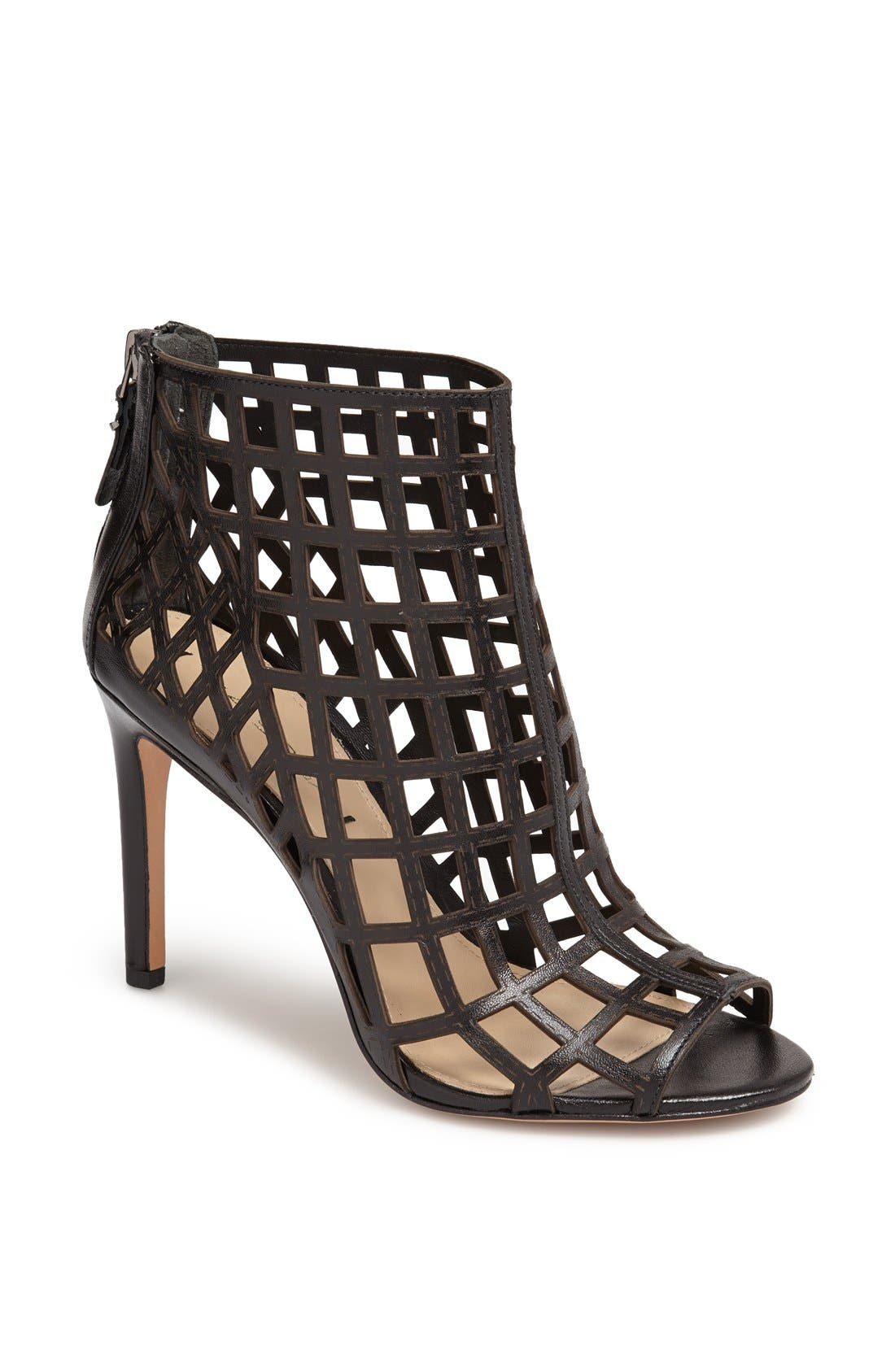,                             'Elenora' Cage Bootie,                             Main thumbnail 2, color,                             001