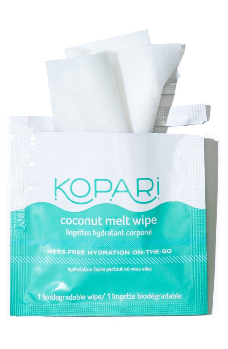 KOPARI Coconut Melt Wipes, Main, color, NO COLOR