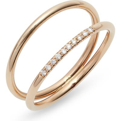 Zoe Chicco Double Band Ring