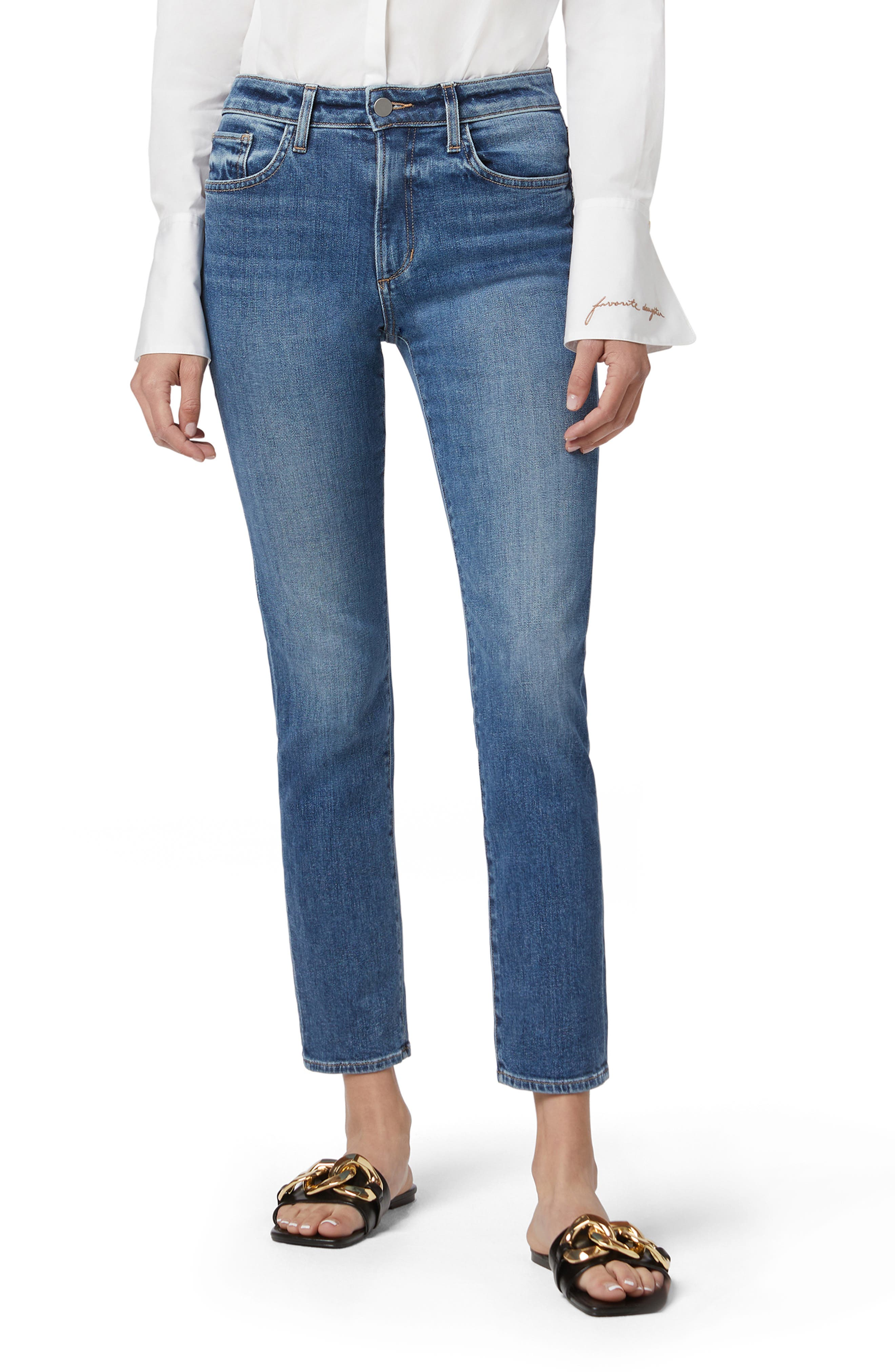 Erin Ankle Straight Leg Jeans