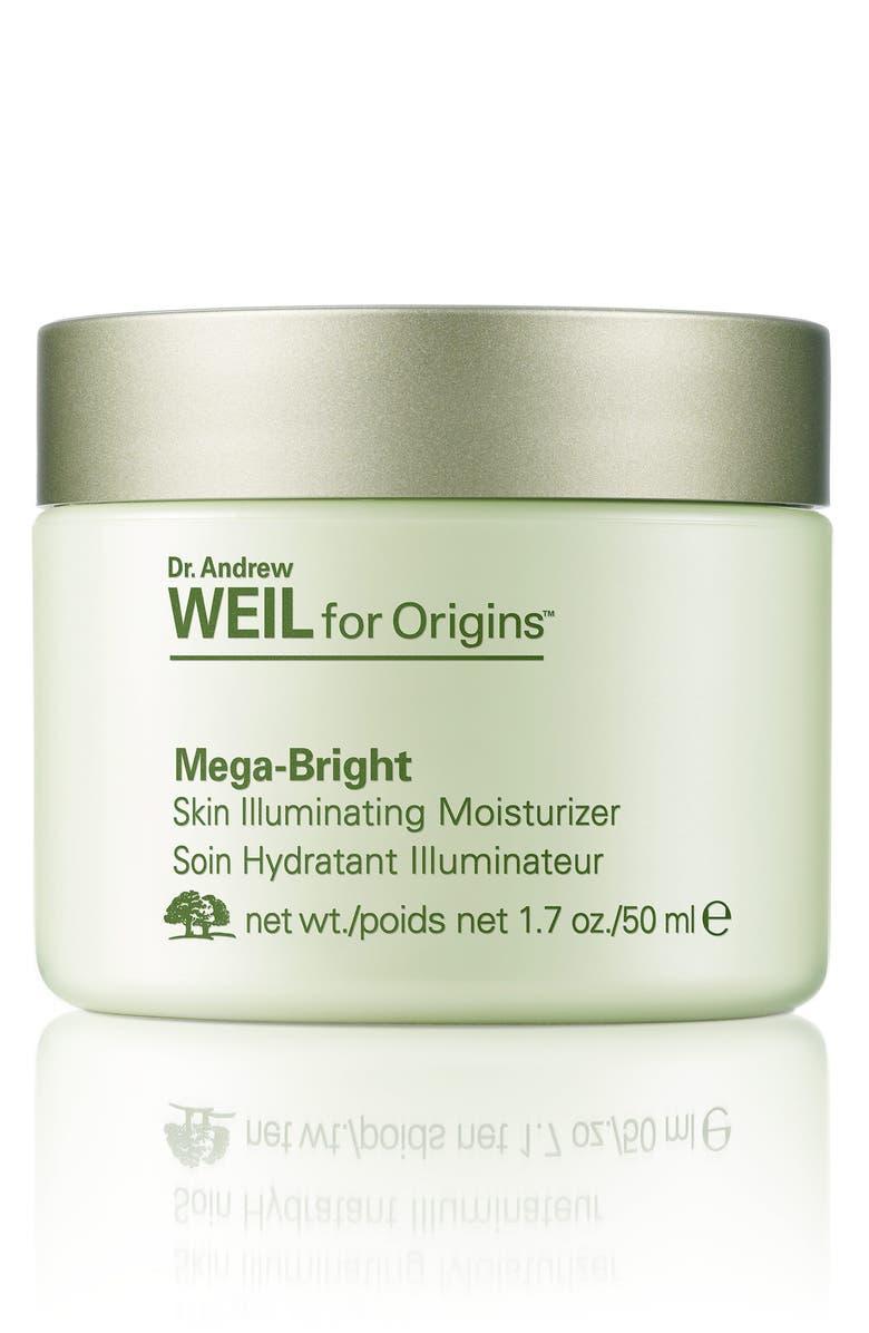 ORIGINS Dr. Andrew Weil for Origins<sup>™</sup> Mega-Bright Skin Illuminating Moisturizer, Main, color, NO COLOR