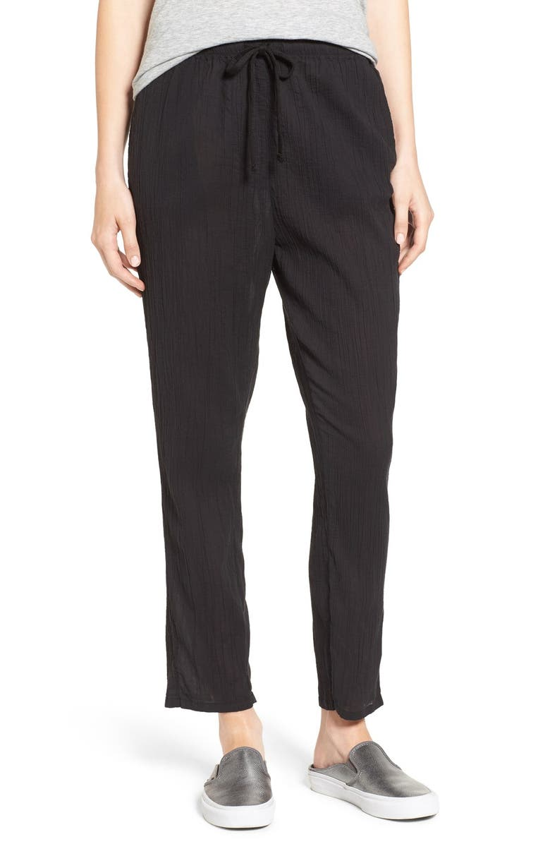 82bdd3f191 James Perse Cotton Gauze Beach Pants | Nordstrom