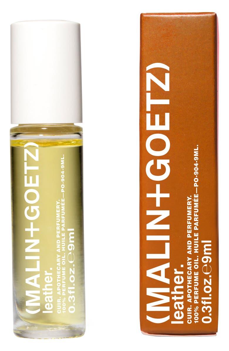 MALIN+GOETZ Leather Perfume Oil, Main, color, NO COLOR