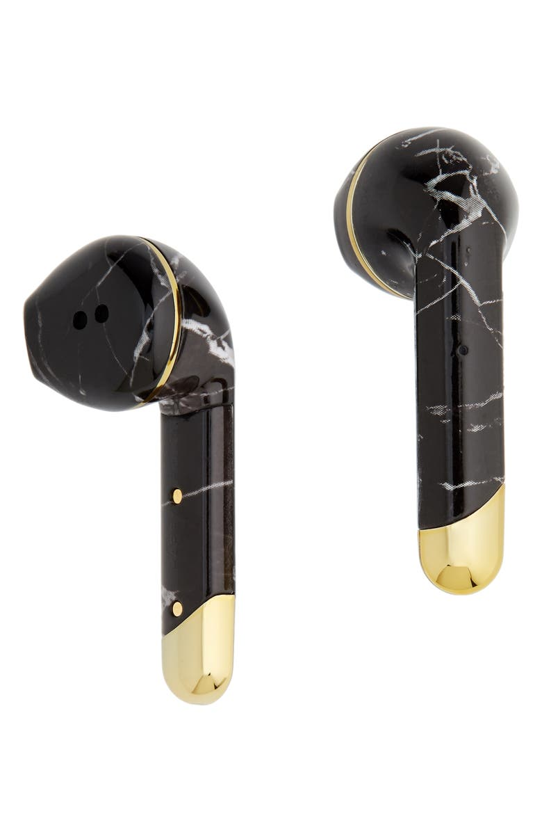 HAPPY PLUGS Air 1 Limited Edition True Wireless In-Ear Headphones, Main, color, BLACK MARBLE