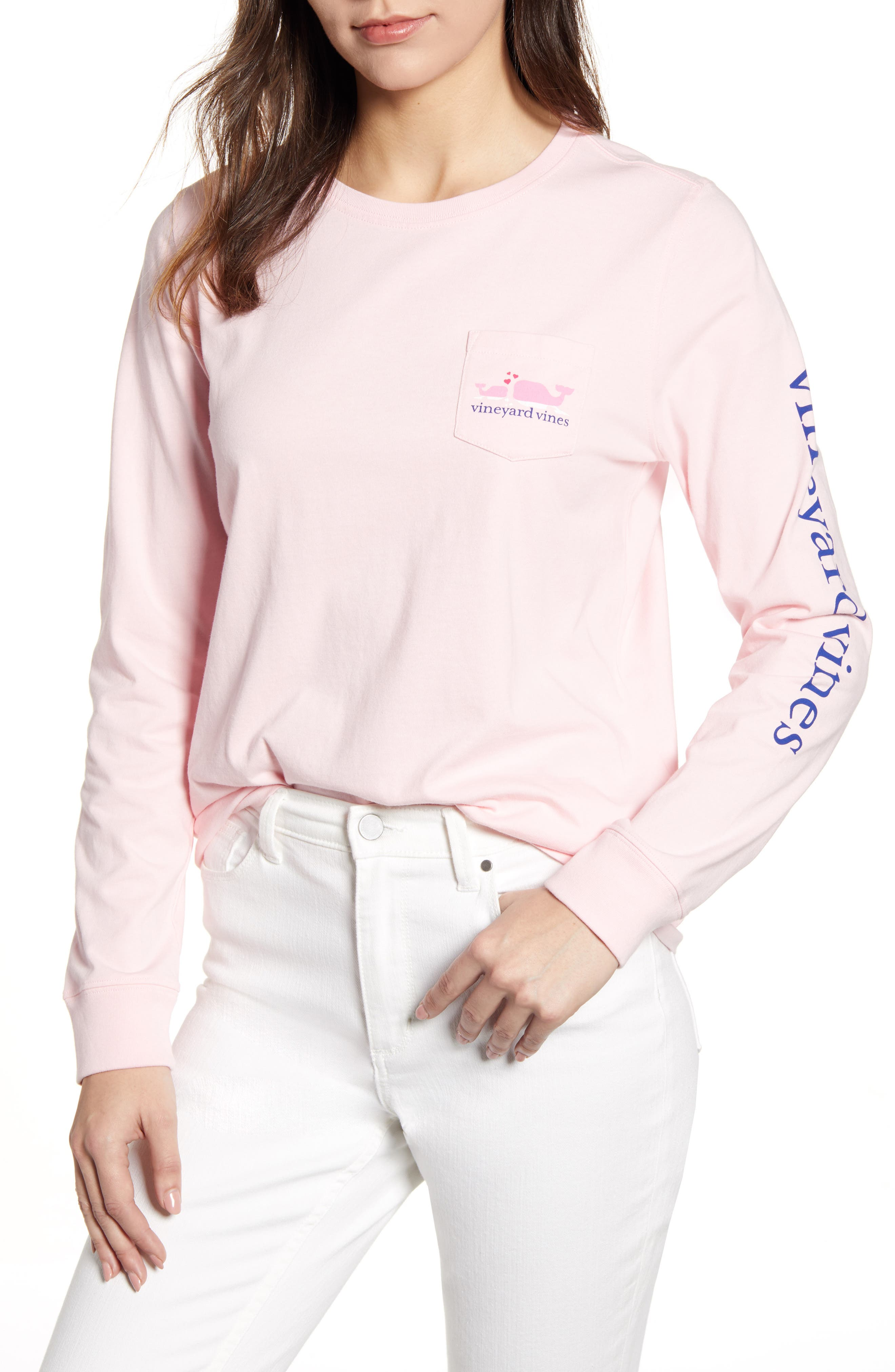 Mother's Day Pocket Tee, Main, color, FLAMINGO