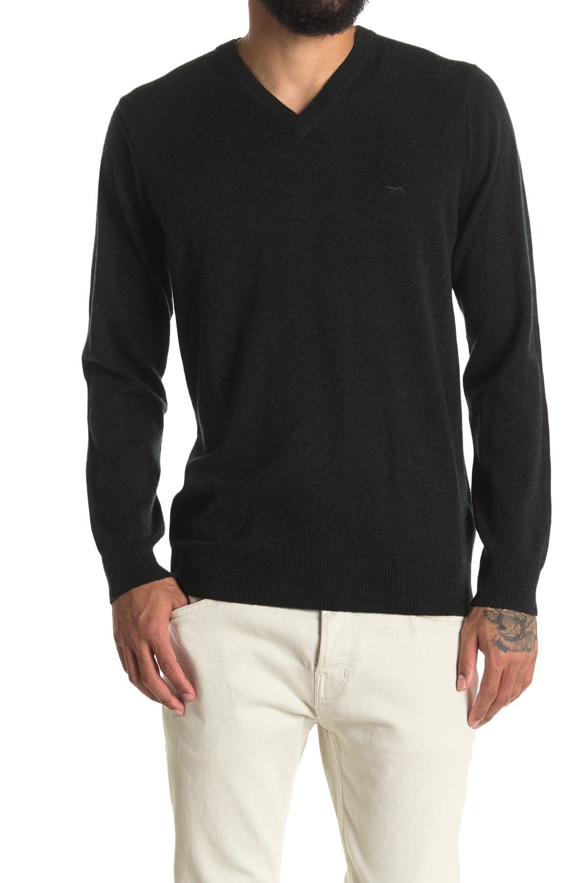 Image of RODD AND GUNN Inchbonnie V-Neck Pullover Sweater
