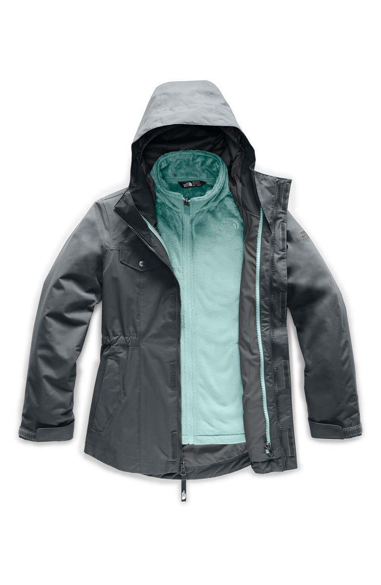 THE NORTH FACE Osolita 2.0 TriClimate<sup>®</sup> Waterproof 3-in-1 Jacket, Main, color, ASPHALT GREY