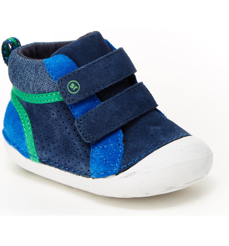STRIDE RITE Soft Motion<sup>™</sup> Milo High Top Sneaker, Main, color, NAVY