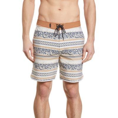 Hurley X Cryptik Mana Beachside Board Shorts, Brown