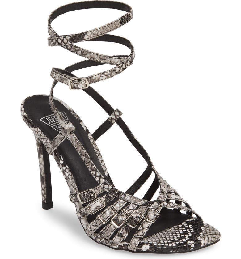 JEFFREY CAMPBELL X-Rated Sandal, Main, color, 001