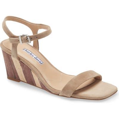 Charles David Transform Wedge Sandal, Grey