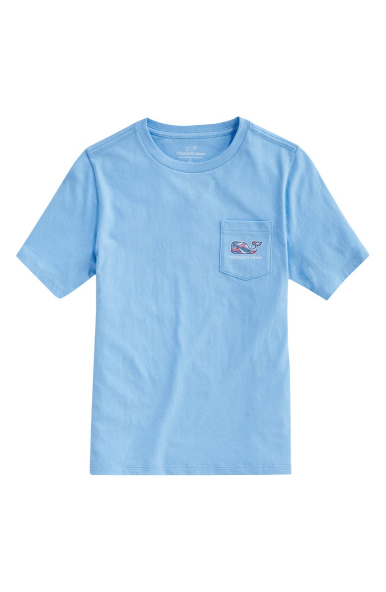 VINEYARD VINES Whale Fill Graphic Tee, Main, color, OCEAN BREEZE