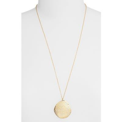 Gorjana Gia Long Pendant Necklace