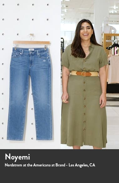 Brigitte High Waist Slim Fit Boyfriend Jeans, sales video thumbnail