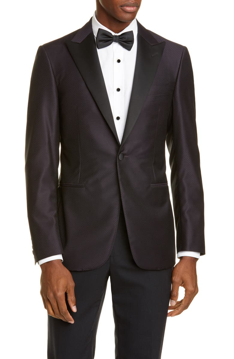 CANALI Classic Fit Wool Dinner Jacket, Main, color, 501