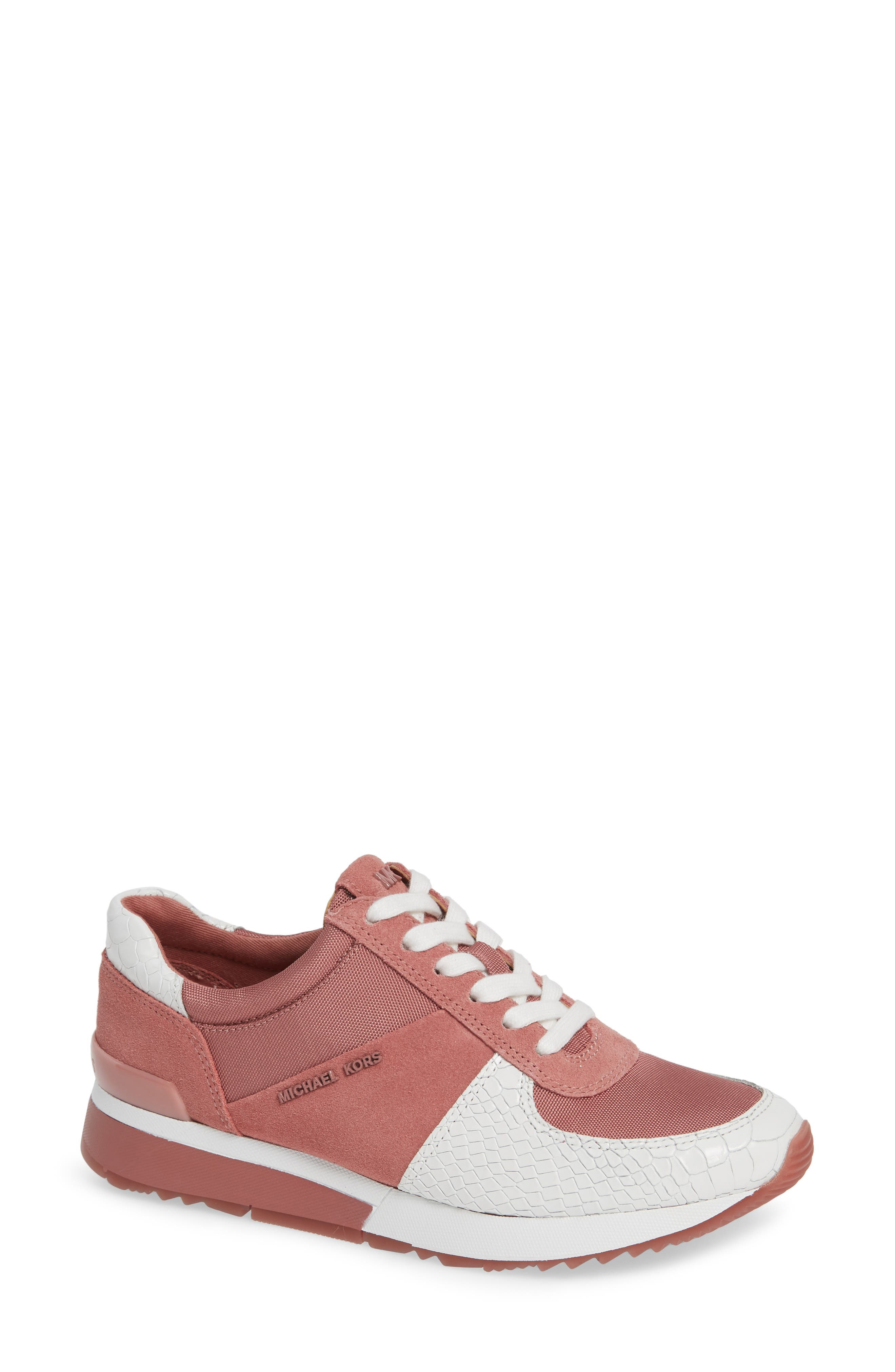 Michael Michael Kors Allie Trainer Sneaker, Pink