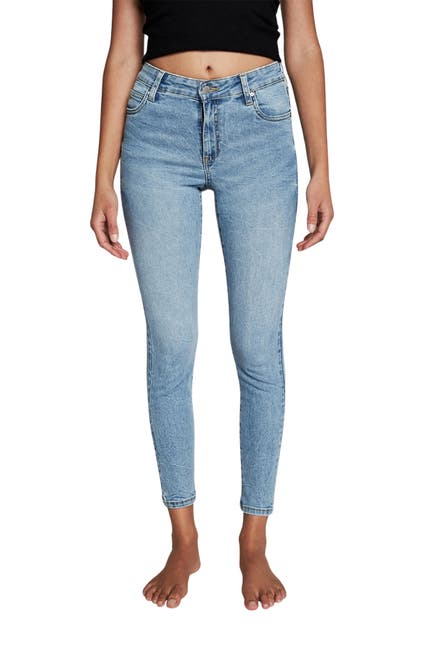 Image of Cotton On Mid Rise Cropped Skinny Jeans